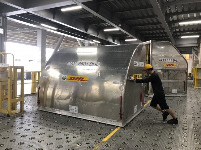 DHL、ラグビーワールドカップ2019TM参加各国代表チームの資材輸送を開始