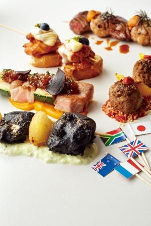 【iBEER LE SUN PALM】ラクビー強豪国の名物料理が串焼きに!2019年進化系串焼き「 串キュイジーヌ5種」