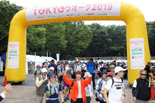 第1回大会「新宿・文京エリア」の様子(6月8日)