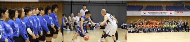 第23回日韓スポーツ交流・成人交歓交流韓国選手団の受入を実施します