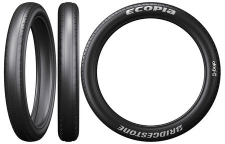 ソーラーカー用タイヤとして供給する「ECOPIA with ologic」