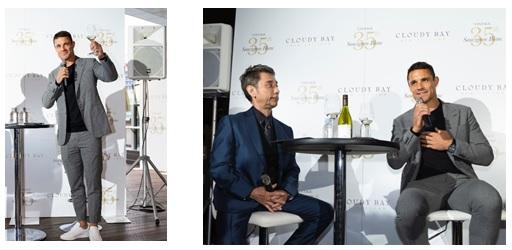 クラウディー ベイ ソーヴィニヨン  ブラン誕生 35周年記念2019年のヴィンテージ発売を祝したテイスティングイベントにラグビー元ニュージーランド代表 ダン・カーター氏が登場!