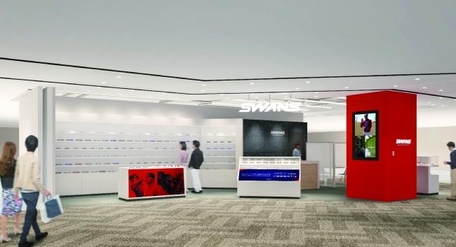 """地域最大級の複合商業施設""""LINKS UMEDA""""にSWANS直営店が進出「SWANS STORE LINKS UMEDA店」11月16日(土)オープン"""