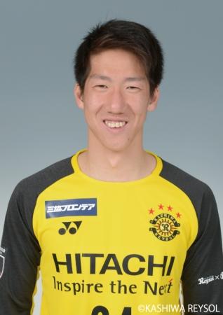 杉井颯選手 柏レイソルより育成型期限付き移籍加入のお知らせ