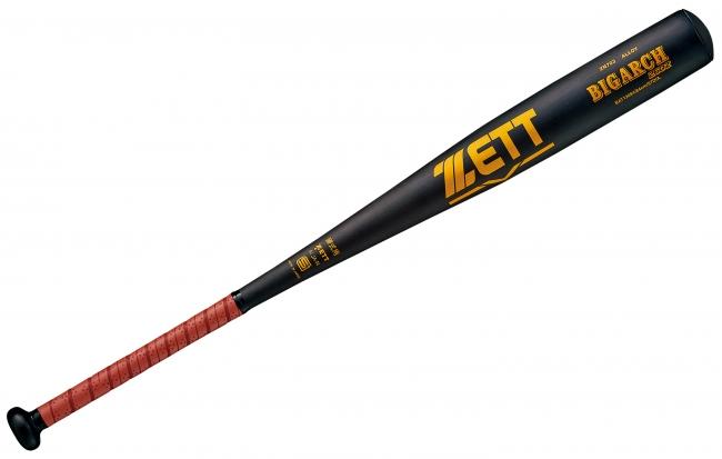 《ZETT》しっかり弾く打球感と打球音も爽快なワイドミートエリア設計モデル、⼀般硬式⾦属製バット【ビッグアーチ260Z】登場︕