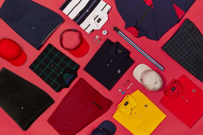 「PS ポール・スミス」のメンズコレクションが、ゴルフをテーマにしたカプセルコレクションを発売。