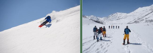 栂池高原スキー場、国内外からのバックカントリーの需要増加で2月22日より栂池パノラマウェイの早期運行を開始〜栂池自然園では広大な大雪原を楽しめるスノーシューも開始〜