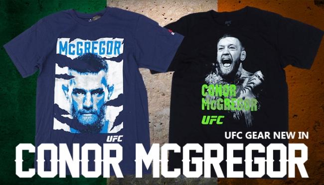 UFC グッズ!電撃復帰を果たしたコナー・マクレガー選手のTシャツが海外より新入荷!
