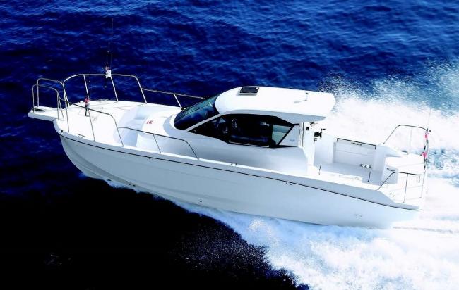 高次元のフィッシング機能・航走性能・居住性を兼ね備えた「EX28C」を発表