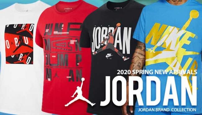 JORDANブランドのアパレルが新入荷!2020年新作Tシャツ登場!