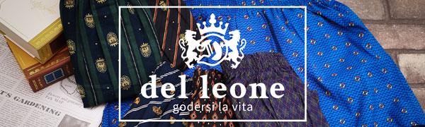 これからの季節にピッタリ!del leoneからお洒落なプリント柄メンズトランクスが登場!
