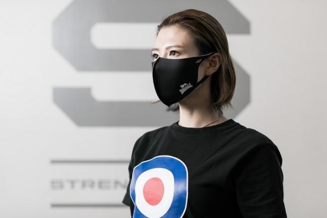 新型コロナウィルスに負けるな! スーパーモデルボクサー高野人母美選手も愛用英国ブランド『LONSDALE』のクールな接触冷感マスク