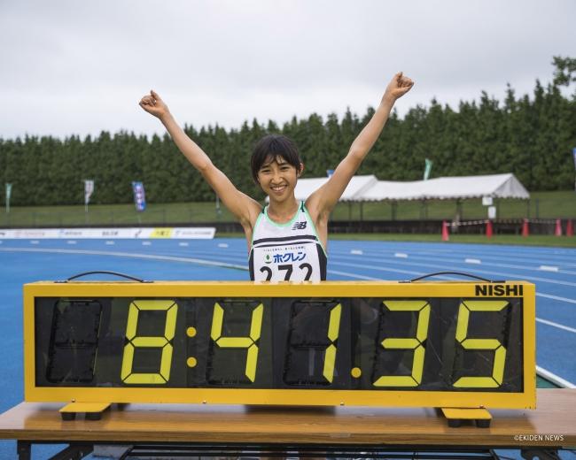 田中希実選手が女子3,000mで18年ぶりに日本記録を更新
