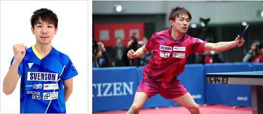 卓球男子日本代表 丹羽孝希選手 スヴェンソンホールディングスと所属契約を更新