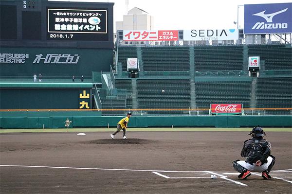憧れの甲子園のマウンドでピッチング 「2020阪神甲子園球場 マウンド投球イベント」の参加者募集 ~120名限定の特別なイベントを開催します~