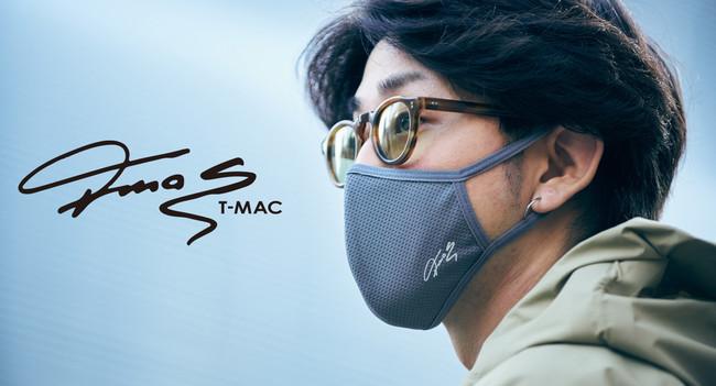 スポーツブランド『T-MAC』のUV快適マスクから新たにLLサイズが登場。椿オイル加工を施し、保湿・殺菌・抗菌効果もあります!
