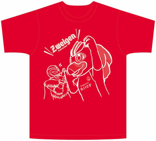 10/18(日)磐田戦 「ツエーゲン金沢×OJICO オリジナルコラボTシャツ」来場者プレゼント