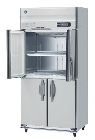 寄贈する大型冷凍庫