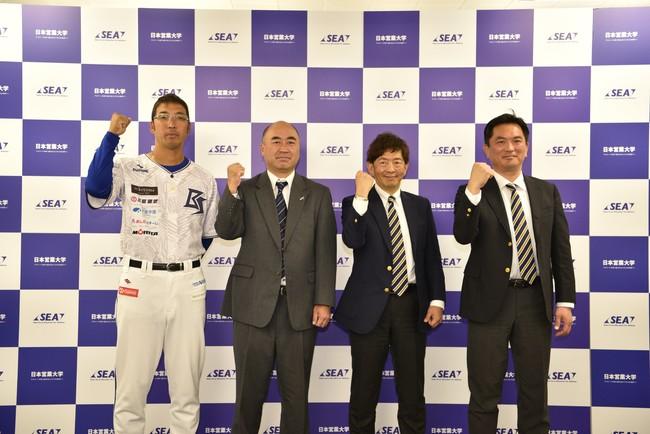 日本初のアスリート向けビジネス教育機関「日本営業大学」が「兵庫ブルーサンダーズ」と提携。引退後のキャリア支援を開始