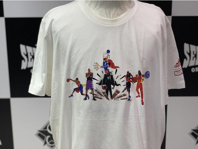 NBA×adidas×MARVEL 夢のトリプルコラボTシャツが新入荷!