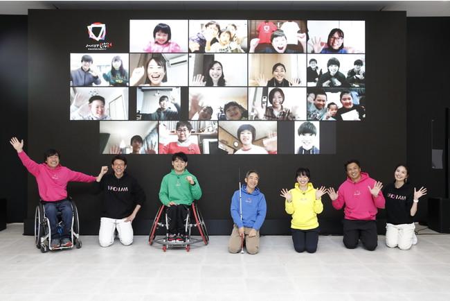 WOWOW「WHO I AM」発ユニバーサルスポーツイベント「ノーバリアオンラインLIVE 2020 〜#みんなちがってみんないい〜」開催。MCの松岡修造「僕自身がノーバリアで前向きに行く」。