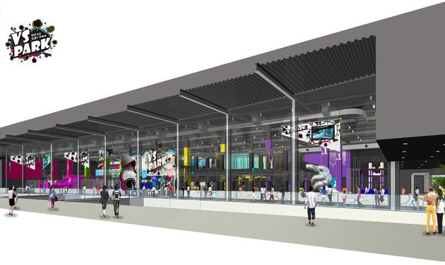 大人気のエンターテインメント施設が最大規模で東北初登場! 新感覚バラエティスポーツ施設『VS PARK』イオンモール新利府 南館に2021年3月5日(金)オープン