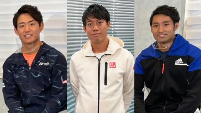男子テニスATPツアー2021開幕スペシャルを放送!錦織圭、西岡良仁、内山靖崇に色々聞いてみた!