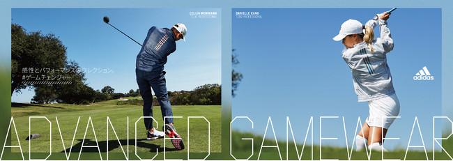 "ADVANCED GAMEWEAR感性とパフォーマンスのコレクション登場アディダスゴルフが提案する全く新しい次世代の""GAMEWEAR"