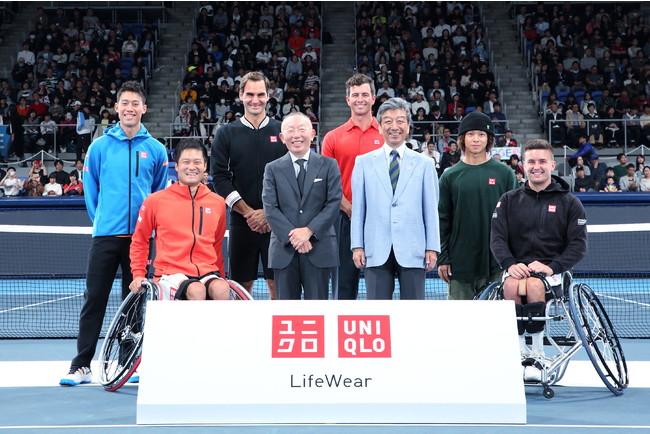 日本テニス協会とユニクロが協賛契約を締結