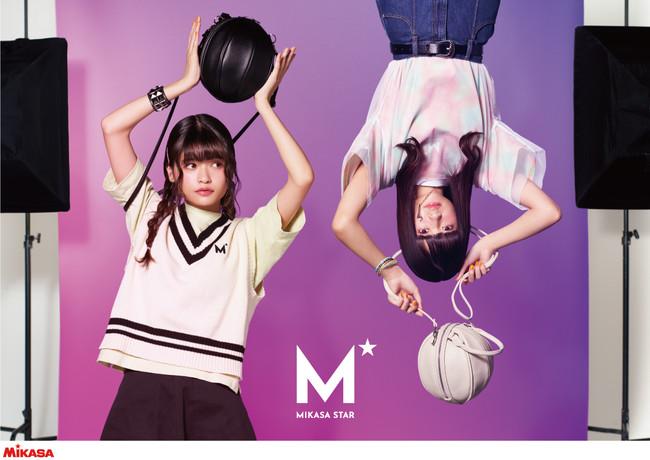 MIKASAのアパレルブランドMIKASA STAR 景井ひなさんとコラボした第二弾がスタート!