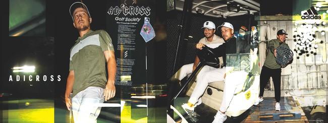 ストリートファッションと溶け合う斬新で革新的なゴルフアパレル新たな領域に踏み出した「ADICROSS」登場常に自分らしくいたいゴルファーへ