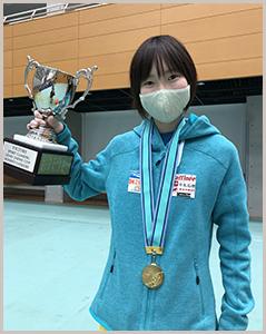 第34回リードジャパンカップで2連覇の森秋彩選手