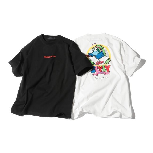 【本館6F レイジブルー】 Tシャツ(白・黒) 4,290円(4月30日発売)