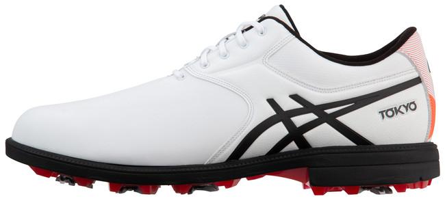 日本の伝統的な美意識をベースにしたグラフィックデザインを施したゴルフ靴を発売