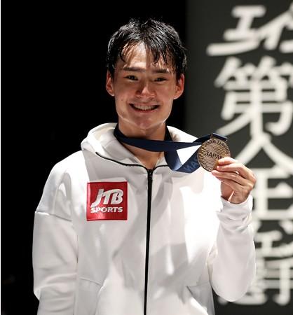 JTB所属「フェンシング男子フルーレ松山選手」東京2020オリンピック日本代表内定!