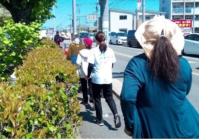 【地域貢献】堺整骨院 長住院が、ウォーキング教室を開催しました!