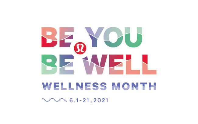 ルルレモン初のオンライン スウェットフェス「Be You Be Well: Wellness Month」開催!