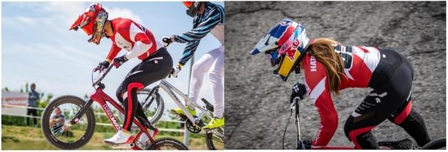 『デサント』ブランドにおいて自転車競技BMXレーシング日本代表ウエア開発