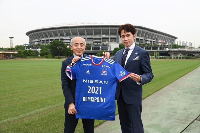 J1プロサッカークラブ横浜F・マリノスとトップパートナー契約を締結!