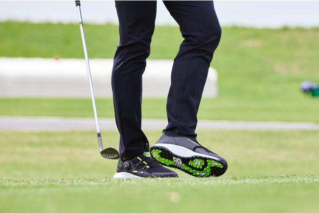 BOA®の生体力学研究を落とし込んだゴルフシューズがニューバランスゴルフから登場