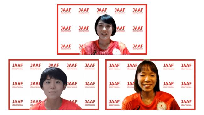 【東京オリンピック・陸上】女子マラソン日本代表選手記者会見コメント ~前田・鈴木・一山がレースに向けた心境を語る~