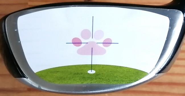 """#ゴルフ女子 も必見!新型コロナをぶっ飛ばそう!見た事ない """"笑っと!シール""""で笑顔のゴルフ練習を応援します。"""
