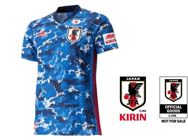 聖獣麒麟入り アディダス サッカー日本代表2020 レプリカ ユニフォーム
