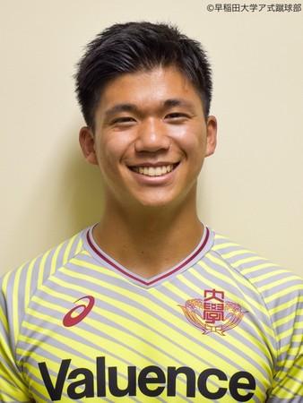 【福島ユナイテッドFC】上川 琢 選手(早稲田大学所属) 2022シーズン加入内定 および、2021 JFA・Jリーグ特別指定選手認定