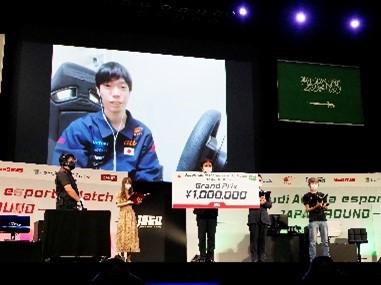 グランツーリスモSPORT 優勝 TEAM JAPAN 川上 奏 選手(1位入賞)