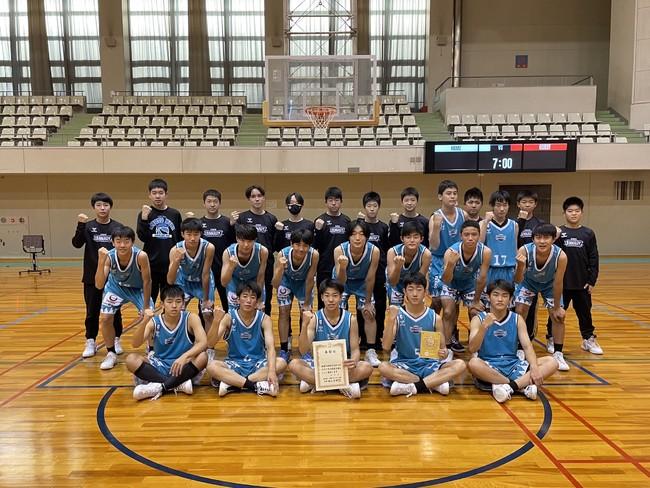 京都ハンナリーズU15《Jr.ウインターカップ京都府予選会》優勝のお知らせ