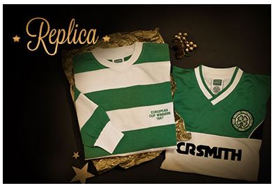 Celtic's replica shirts