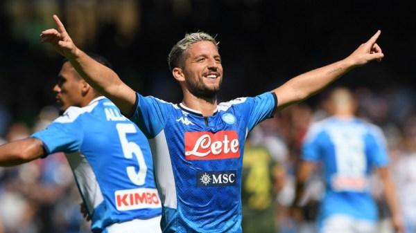 Salzburg 2-3 Napoli: Mertens gets a double in thriller