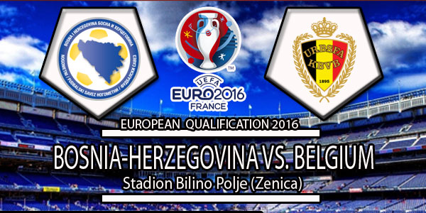 Belgium Vs Bosnia and Herzegovina