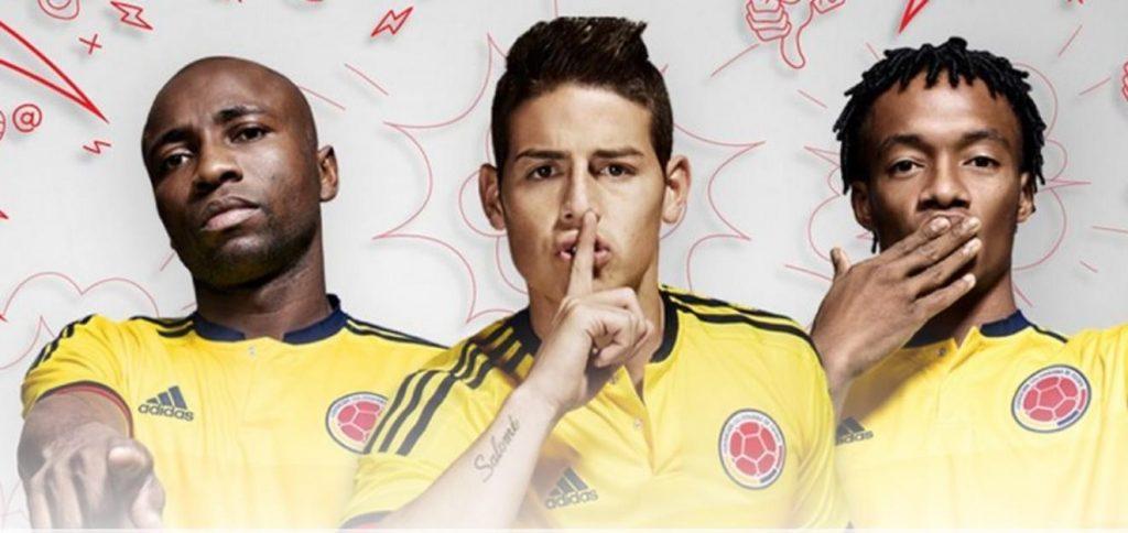 Colombia throwing challenge for Copa America Centenario